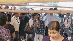 Actress Aparna Sen Actress Kaushik Sen Meets Striking Doctors In Nrs