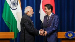 Pm Modi Meets Japan Pm Shinzo Abe On G20 Sidelines