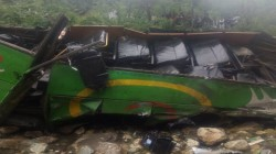 Bus Carrying 50 People Fell Into A Gorge In Kullu