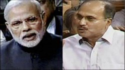 Adhir Chowdhury Counters Bjp Mp S Attitude On Narendra Modi