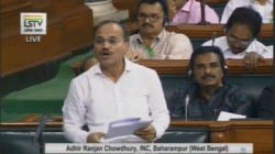 Gandi Nali Adhir Ranjan Chowdhury Needs To Learn Fluent Hindi As Lok Sabha Leader