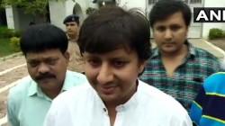 Mla Akash Vijayvargiya Gets Bail Says Had A Bash In Jail