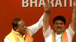 Bjp Picks Up Diamond From Trinamool Congress S Coal Mine