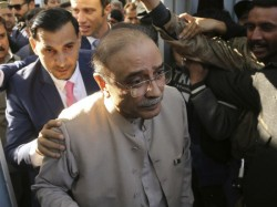 Ex Pakistani President Asif Ali Zardari Arrested In Fraud Case