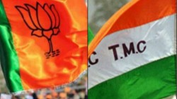 Bjp Targets Mamata Banerjee With Their Joy Sri Ram Slogan In Bengal