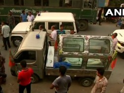 Bjp Retreats From Movement With Dead Body Of Party Worker In Sandeshkhali