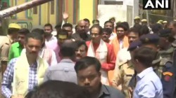 Shiv Sena Demands Ordinance For Ram Temple In Ayodhya Offers Prayers At Ram Lalla Temple
