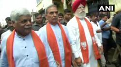 Bjp S Central Delegation Team Visits Bhatpara