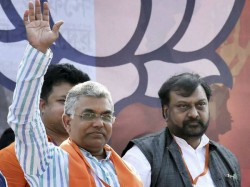 Dilip Ghosh Demands Tmc Made Violence To Enter In Bjp S Victory Rally