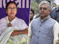 Dilip Ghosh Criticised Mamata Banerjee On Jai Shree Ram Slogan Issue