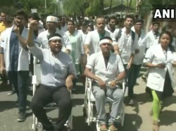 Delhi Aiims Doctors Starts Strike Over Nrs Issue Health Service Deteriorates