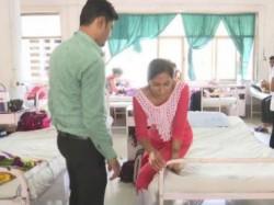 Gujarat Bjp Mla Balaram Thranshed Ncp S Woman Leader See Video