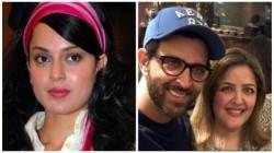 Hrithik Roshan S Family Sedated Sunaina Tweets Kangana Ranaut Sister