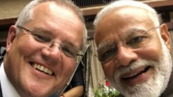 Australia Prime Minister Scott Morrison Tweets A Picture Of Modi
