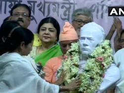 Mamata Banerjee Unveils Vidyasagar S Statue In Vidya Sagar College
