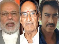 Pm Narendra Modi Mourns Veeru Devgan In Personal Note To Devgan Family