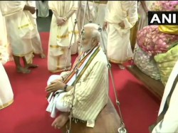 Pm Modi In Kerala Ahead Of First Foreign Trip To Sri Lanka
