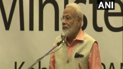 Vande Mataram Jai Sri Ram Slogans Raised At Community Event After Conclusion Narendra Modi Address