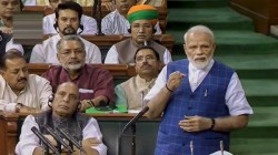 Pm Modi Targets Congress From His First Speech After 2nd Time Oath
