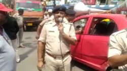 Drunken Police Officer In Anti Drug Rally Later Suspended In West Bengal