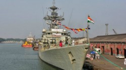 Major Fire Broke Out At An Under Construction Warship Of The Navy At Maharashtra S Mazgaon Dockyard