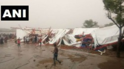 Killed 70 Injured As Pandaal Collapses Due To Storm Rain In Rajasthan