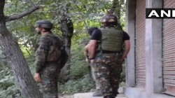 One Terrorist Killed In An Encounter In Boniyar In J K S Baramulla