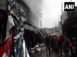 Major Fire Broke Out In Bidhan Market In Siliguri