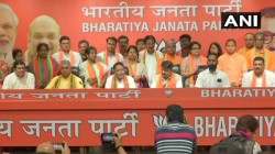 Noapara Mla Sunil Singh Joins In Bjp Leaving Tmc With 12 Councillors