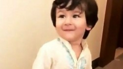 Taimur Ali Khan Celebrates India S Win Againt Pakistan Here Is The Picture