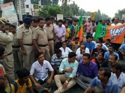 Basirhat Live Updates Bjp Protests Against Killing Of Their Workers In West Bengal