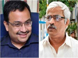 Kunal Ghosh Meets With Cpm Mla Sujan Chakraborty In Assembly