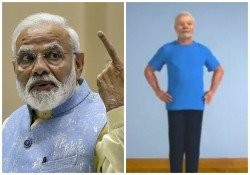 International Yoga Day 2019 Pm Modi Shares Animated Version Of Him See Videos