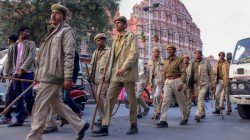 Rajasthan Armed Constabulary Deployed Outside The Union Finance Ministry Shot Himself Dead