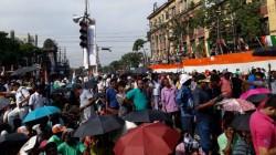 The Rain Is Started In Kolkata Before 21 July Shahid Divas