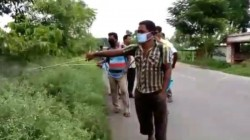 Harmful Parthenium Plant Cleaning Operation In Kaliaganj By Panchyet Samiti