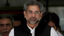 Ex Pak Pm Shahid Khakan Abbasi Arrested