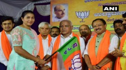Anju Bobby George Joins Bjp In Karnataka