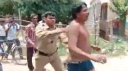 Teacher Assaults Girls Parents Beaten And Hand Him Over To Police