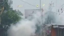 Miscreants Attacks Matri Sadan And Polive Station At Bhatpara