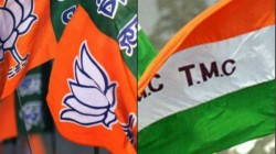 Bjp Tmc Clash In Amdanga Over Ownership Of A Motorbike Showroom