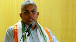 Bjp Leader Dilip Ghosh Claims Mamata Banerjee Forgot The Writing Speech Of Prashant Kishor