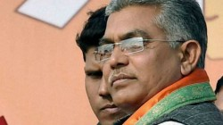 Bjp Leader Dilip Ghosh Criticises Mamata Banerjee For Her Speech From Dahrmatala 21 July Manch