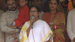 Mamata Bnerjee And Nusrat Jahan Attends Iskcon Rathayatra In Kolkata