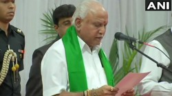 Bs Yedurappa Oaths As Next Chief Minister Of Karnataka After Kumarswami