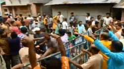 Bjp Police Clash At Gobordanga