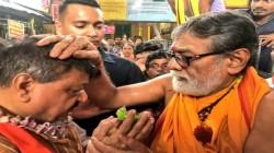 Bjp Leader Kailash Vijayvargiya Visits Tarakeswar