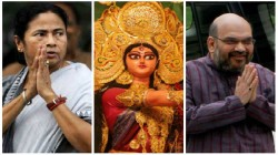 Amit Shah To Inaugurate Durga Puja In Kolkata At Mamata S Locality