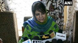 Amarnath Yatra Arrangements Against Kashmiris Says Mehbooba Mufti