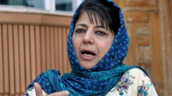 Mehbooba Mufti Supports Trump S Idea Of Mediating In The Kashmir Dispute